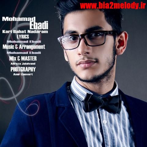 دانلود آهنگ کاری باهات ندارم از محمد عبادی
