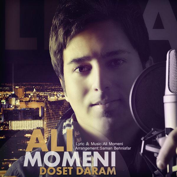 دانلود آهنگ جدید دوست دارم از علی مومنی