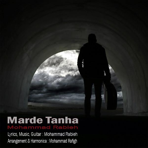 دانلود آهنگ جدید مرد تنها از محمد ربیعه